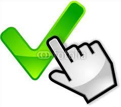 main valid clic vert